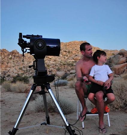 EK telescope