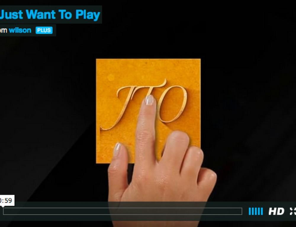 'Josh Wanna Play!'