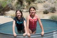 Kids in tub