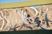 Kids through wall